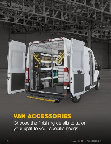 Ranger Design 2017 Van Accessories Buyers' Guide