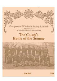 Manchester Co-op's Battle of the Somme OLD