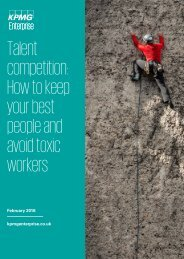 Talent competition How to keep your best people and avoid toxic workers