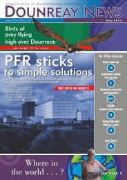 PFR sticks