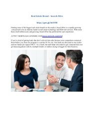 Real Estate Brands – Search-Wire Best Lead Providers