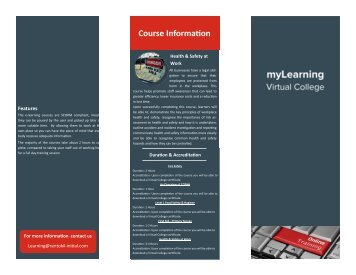 Rentokil PC Virtual College Brochure TEST