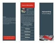 Rentokil PC Virtual College Brochure TEST