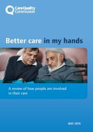 Better care in my hands
