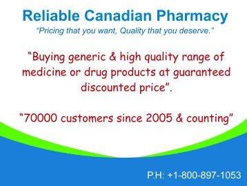 Generic Trinidazole Canada Online Pharmacy