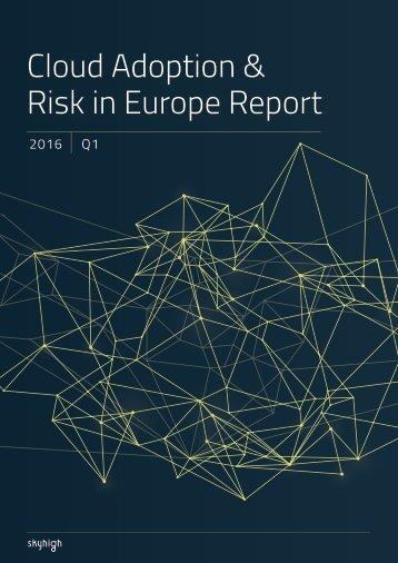 Risk in Europe Report