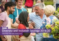 Diversity and Inclusion Strategy 2016-20