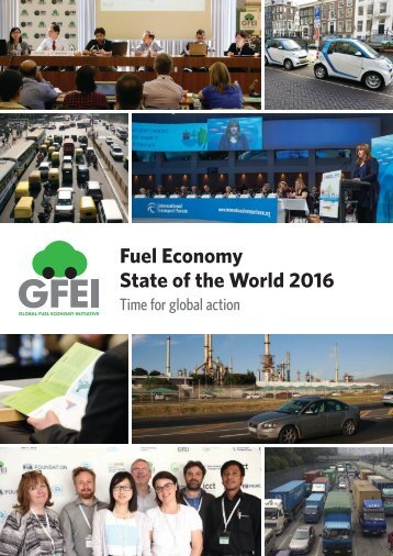 Fuel Economy State of the World 2016