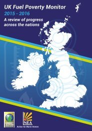 UK Fuel Poverty Monitor