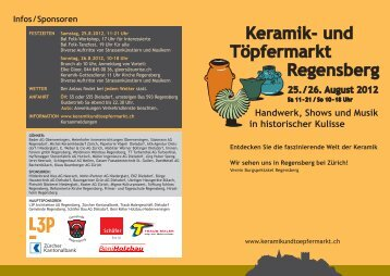 Keramik- und Töpfermarkt Regensberg