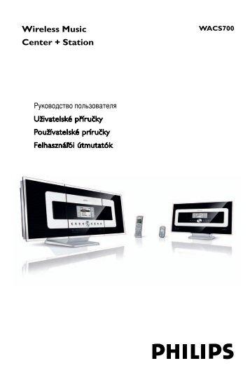 Philips Streamium Centre Streamium - Mode d'emploi - SLK