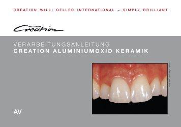 creation aluminiumoxid keramik - Creation Willi Geller
