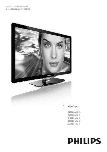 Philips Téléviseur LED - Mode d'emploi - FIN