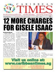 Caribbean Times 12th Issue - Friday 20th May 2016