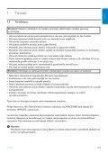 Philips Streamium Centre Streamium - Mode d'emploi - FIN - Page 7