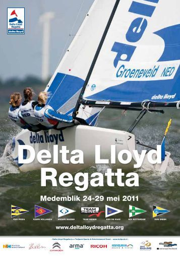 Programma Delta Lloyd Regatta 2011
