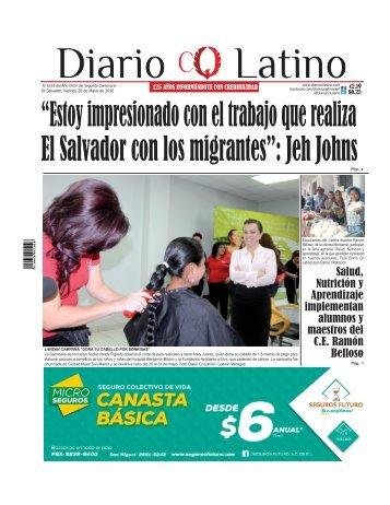 Edición 20 de Mayo de 2016