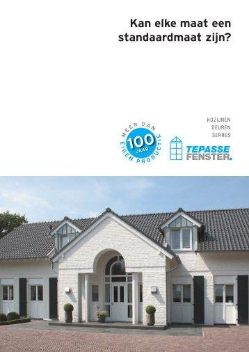 Tepasse-Fenster-Katalog