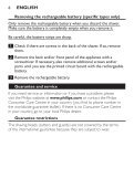 Philips Shaver series 3000 Rasoir électrique rasage à sec - Instructions avant utilisation - SRP - Page 6