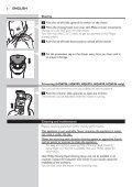 Philips Shaver series 3000 Rasoir électrique rasage à sec - Mode d'emploi - RUS - Page 6