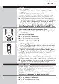 Philips Shaver series 3000 Rasoir électrique rasage à sec - Mode d'emploi - SLK - Page 5