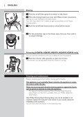 Philips Shaver series 3000 Rasoir électrique rasage à sec - Mode d'emploi - SLK - Page 6