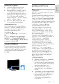 Philips 3100 series Téléviseur LED ultra-plat Full HD - Mode d'emploi - LAV - Page 5