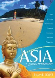 a journey of discovery - Trayvale Travel
