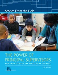 The Power of Principal Supervisors