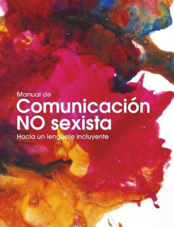 MANUAL DE COMUNICACIÓN NO SEXISTA