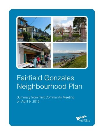 Fairfield Gonzales Neighbourhood Plan