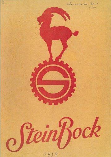 Steinbock Produktübersicht 1939 - Ihr Steinbock Wagenheber