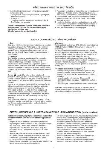 KitchenAid UC FZ 80 - Freezer - UC FZ 80 - Freezer CS (850785196000) Istruzioni per l'Uso