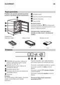 KitchenAid UC FZ 80 - Freezer - UC FZ 80 - Freezer SK (850785196000) Istruzioni per l'Uso - Page 5
