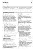 KitchenAid UC FZ 80 - Freezer - UC FZ 80 - Freezer SK (850785196000) Istruzioni per l'Uso - Page 6