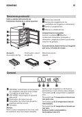 KitchenAid UC FZ 80 - Freezer - UC FZ 80 - Freezer RO (850785196000) Istruzioni per l'Uso - Page 5
