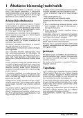 Philips PicoPix Projecteur de poche - Mode d'emploi - HUN - Page 4