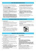 KitchenAid A 265 V - Fridge/freezer combination - A 265 V - Fridge/freezer combination DE (853970512000) Istruzioni per l'Uso - Page 4