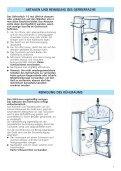 KitchenAid A 265 V - Fridge/freezer combination - A 265 V - Fridge/freezer combination DE (853970512000) Istruzioni per l'Uso - Page 7