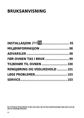 KitchenAid 500 947 51 - Oven - 500 947 51 - Oven NO (857916901510) Istruzioni per l'Uso