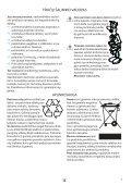 KitchenAid JC 213 WH - Microwave - JC 213 WH - Microwave LT (858721399290) Istruzioni per l'Uso - Page 7