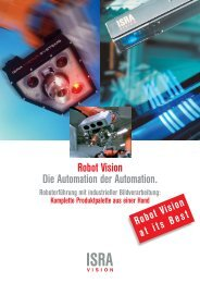 Robot Vision Automation - ISRA VISION AG