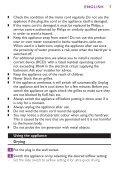 Philips Sèche-cheveux - Mode d'emploi - ZHT - Page 7