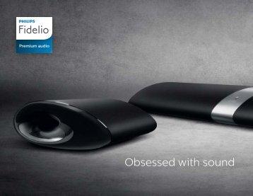 Philips Fidelio Enceintes sans fil SoundSphere - Brochure - ENG