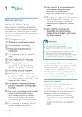 Philips Fidelio Enceintes sans fil SoundSphere - Mode d'emploi - POL - Page 4