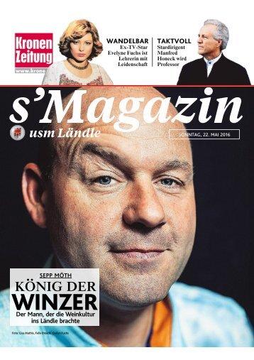 s'Magazin usm Ländle, 22. Mai 2016
