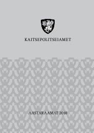 Aastaraamat 2010 (.pdf) - Kaitsepolitseiamet