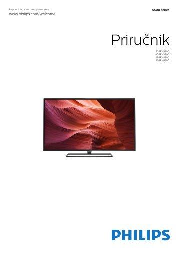 Philips 5500 series Téléviseur LED plat Full HD avec Android™ - Mode d'emploi - SRP
