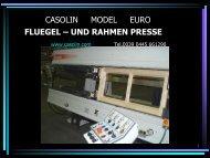 CASOLIN MODEL EURO FLUEGEL – UND RAHMEN PRESSE