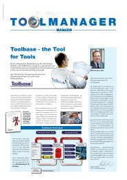 Toolbase - the Tool for Tools - TCM International
